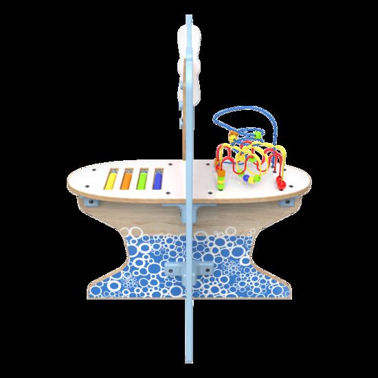 De splash down is een vliegtuig speelsysteem met verschillende speelelementen | IKC speelsysteem kinderhoek