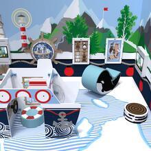 Op deze afbeelding staat een speelhoek Arctic L speelhoek 12 m²